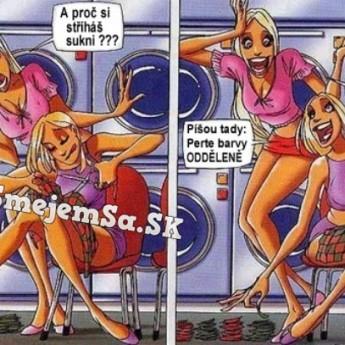 Blondínky v práčovni