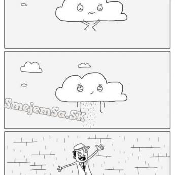 Keď vonku prší …