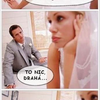 Pomer pred svadbou