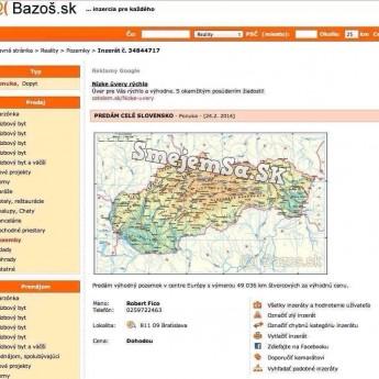 Slovensko na predaj