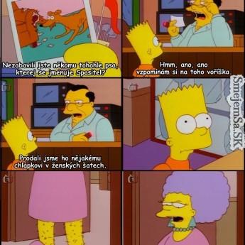 Bart hľadá strateného Spasiteľa