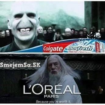 Colgate vs. L'Oréal