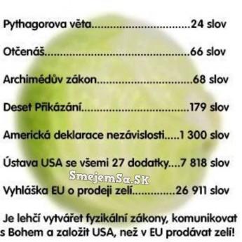 Všetko je ľahšie ako politika EÚ
