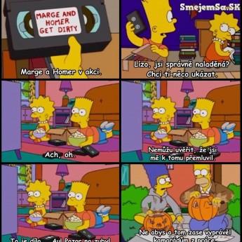 Marge a Homer v akcii