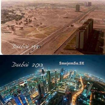 Dubaj kedysi a dnes