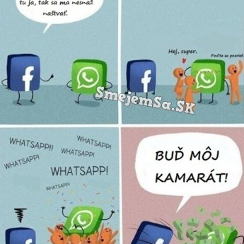 Facebook vs. Whatsapp
