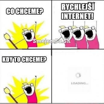 Rýchlejší internet