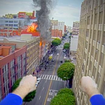 Superman s GoPro kamerou