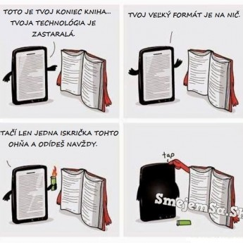 Tablet vs. kniha