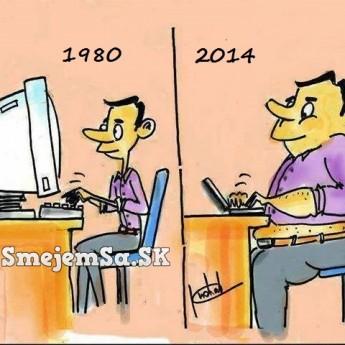 V roku 1980 a teraz