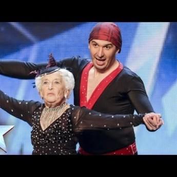 80-ročná tanečníčka Paddy v Británia má talent