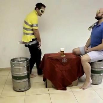 Ako pijú zvieratá pivo