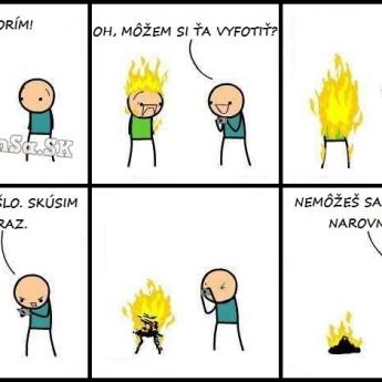 Horím!