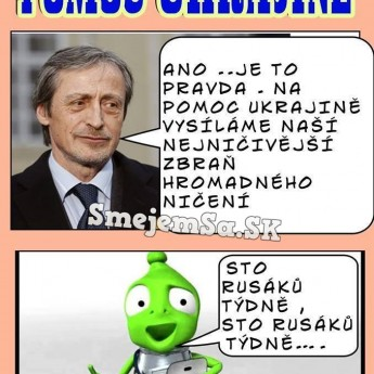 pomoc ukrajine