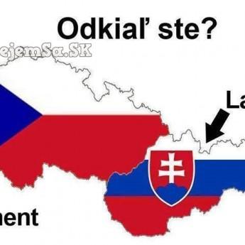 Odkiaľ ste?