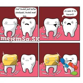Zuby a kazy