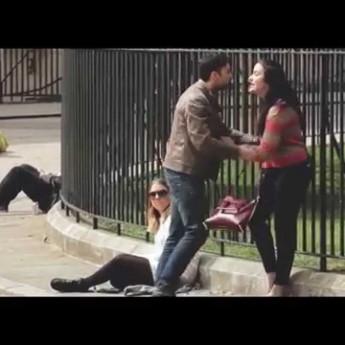 Sociálny experiment o domácom násilí