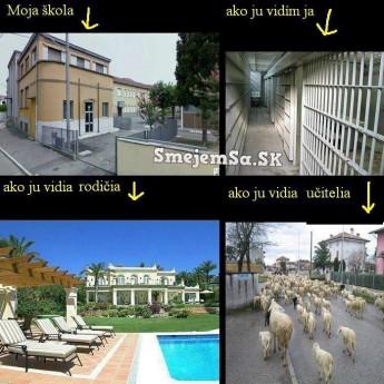 Škola rôznymi pohľadmi