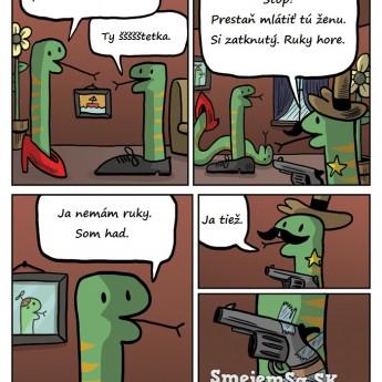 Rozchod hadov