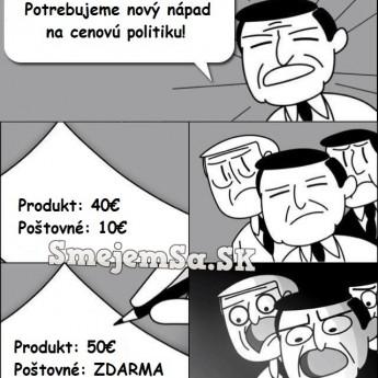 Nová cenová politika