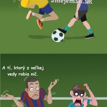 Dva typy futbalistov
