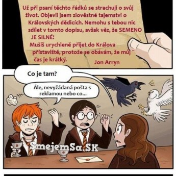 Harry Potter vs. Hra o tróny