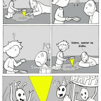 Ako urobiť radosť mravcom