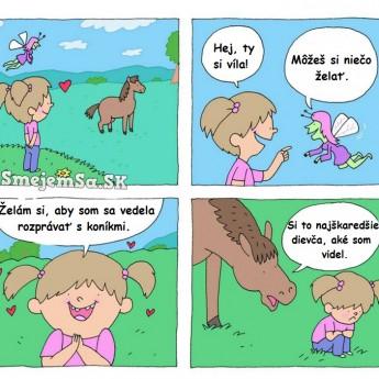 Rozprávanie s koníkom