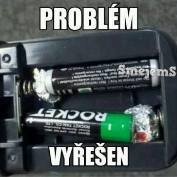 Problém vyriešený