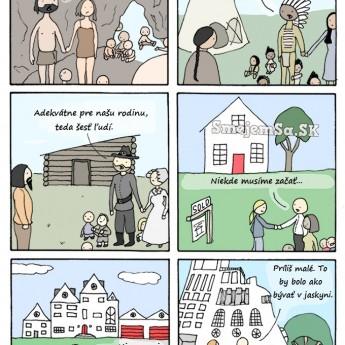 Zvyšujúce sa nároky na bývanie