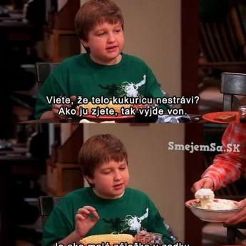 Jake a jeho teória o kukurici