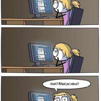 Príliš veľa času za počítačom