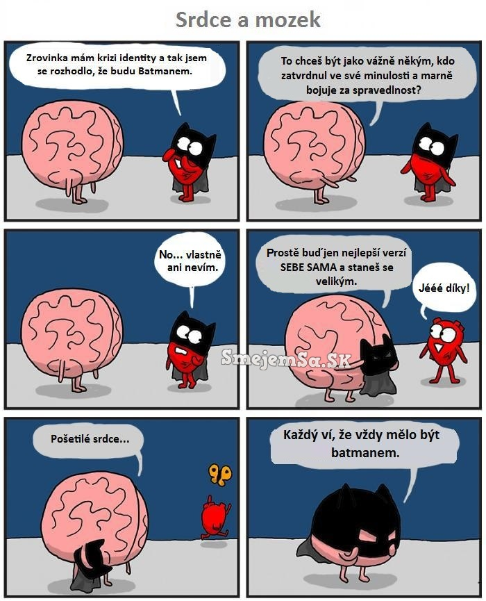 Mozog A Srdce Kreslene Obrazky Smejemsa Sk