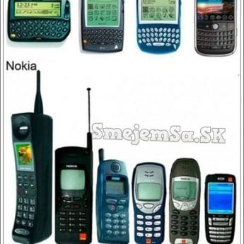 Evolúcia telefónov