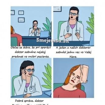 Zábudlivý doktor