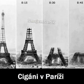 Cigáni v Paríži