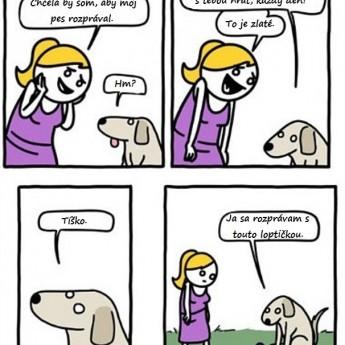 Hovoriaci pes