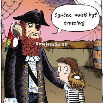 Pirátska trpezlivosť