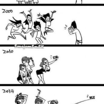 Evolúcia vo fotení