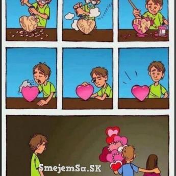 Láska…