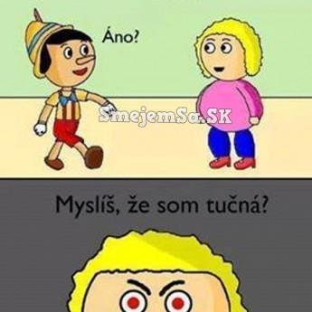 Pinocchio a jeho priateľka