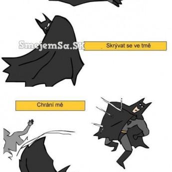 Plášť Batmana vs. plášť Supermana