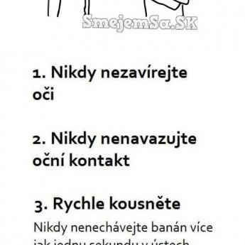4 pravidlá ako jesť banán