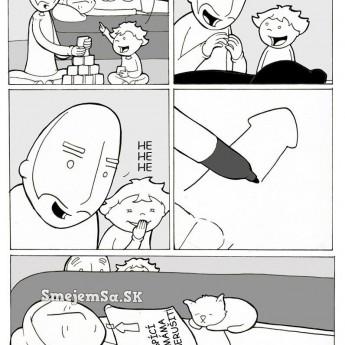 Spiaca mama