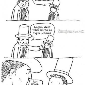 Nechcem byť kúzelníkom!