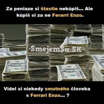 Peniaze a šťastie