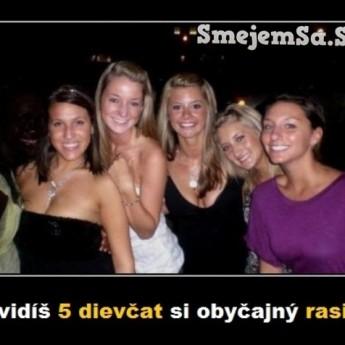 Päť dievčat?!