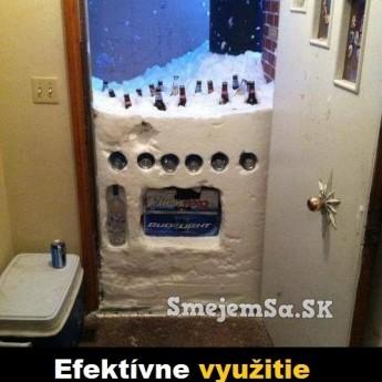 Efektívne využitie snehu