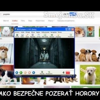 Ako bezpečne pozerať horory