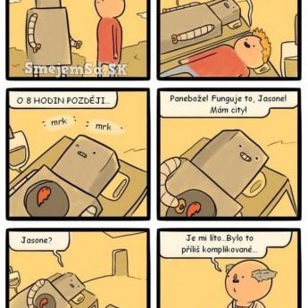 Priateľstvo s robotom